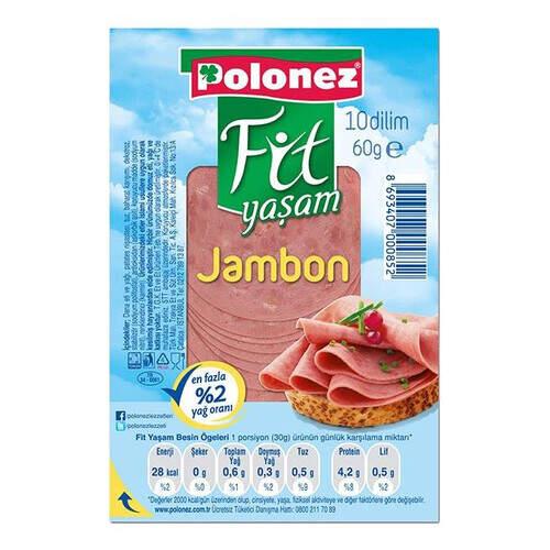 Polonez Fit Yaşam Dana Jambon 60gr.