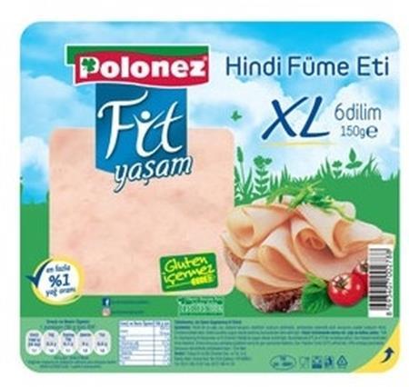 Polonez Fit Yaşam Hindi Füme Et 150gr