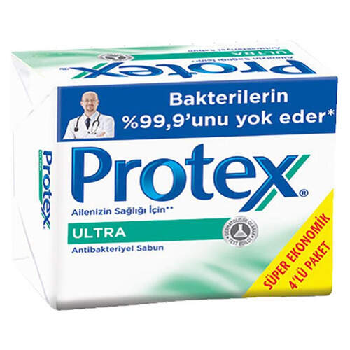 Protex Ultra Katı Sabun 4'lü 75 Gr.