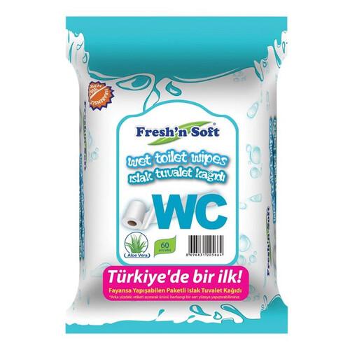 Freshın Soft Wc Islak T.kagıdı 60 Lı