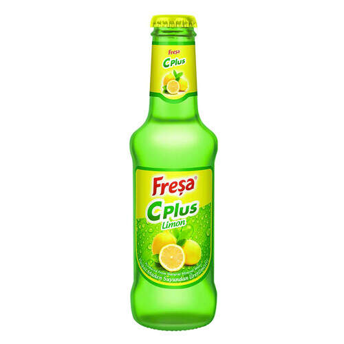 Freşa Maden Soda C Plus Limon Aromalı 200 Ml.