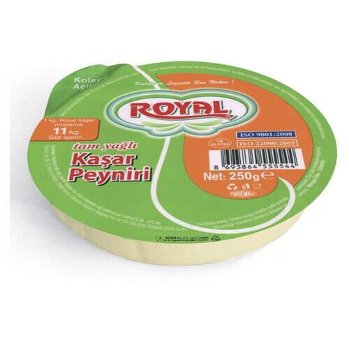 Royal Tam Yağlı Kaşar Peyniri 250 Gr.
