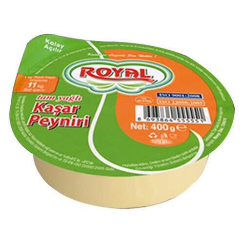 Royal Tam Yağlı Kaşar Peyniri 400 Gr.