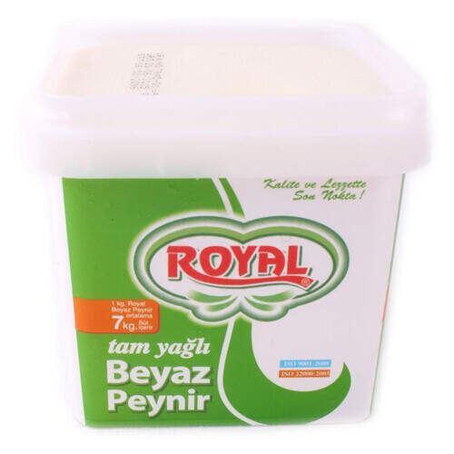 Royal Tam Yagli Beyaz Peynir 500 Gr.