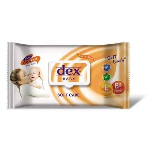 Dex Islak Havlu Soft Care 90 Lı