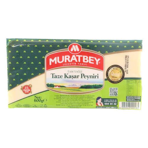 Muratbey Taze Kaşar 600 Gr.