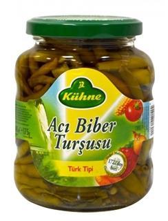 Kuhne Tursu Aci Biber 325 Gr.