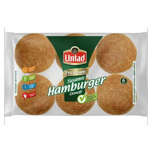Untad Susamlı Extra Hamburger Paket 6*90 Gr