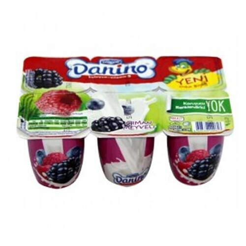 Danino Orman Meyveli Yoğurt 6'lı 35 Gr.