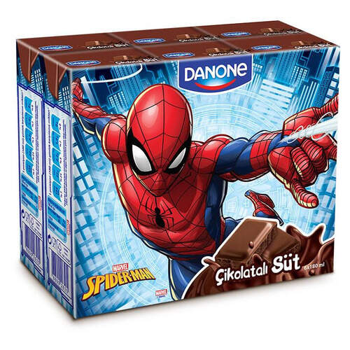 Danone Disney Kakaolu Süt 6'lı