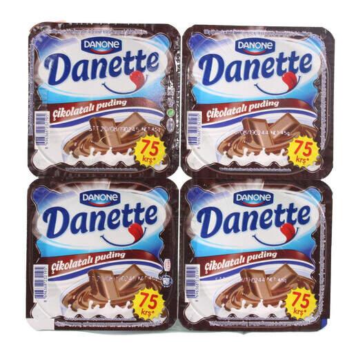 Danette 4'lü Çikolatalı 45 Gr.