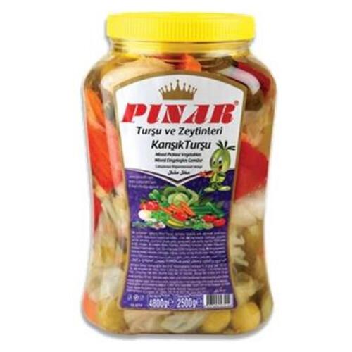 Pınar Karışık Tursu 4800 Gr