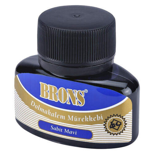 Brons Mürekkep Mavi