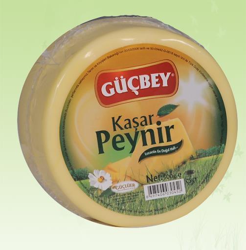 Güçbey Kaşar Peynir 500 Gr.