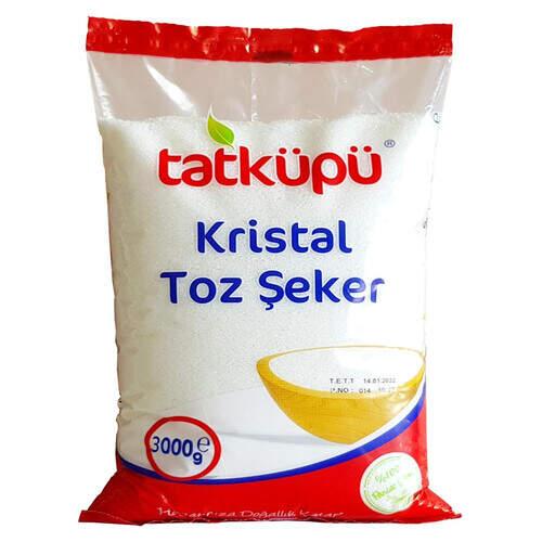 Tatküpü Toz Şeker 3000 Gr.