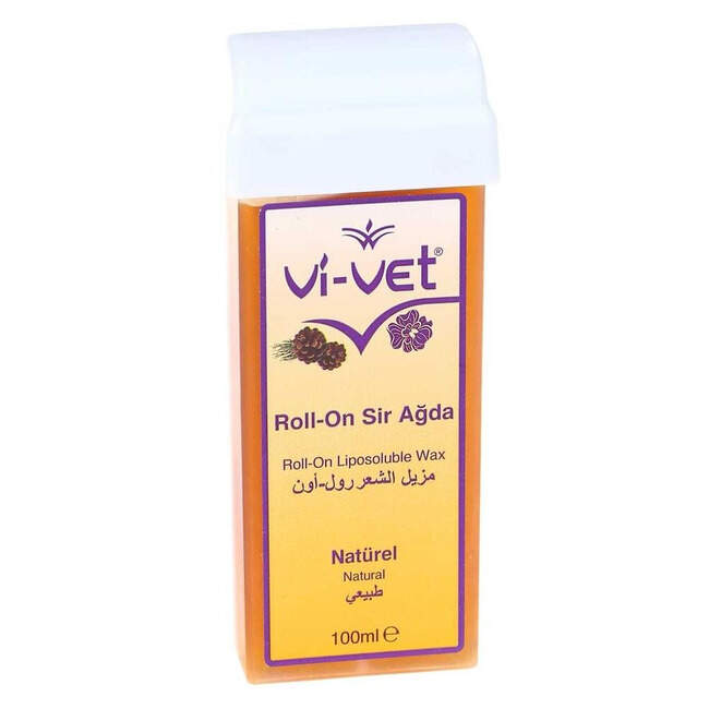 Vi-vet Ağda Naturel Rollon 100 Ml.