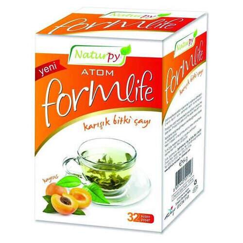 Naturpy Atom Formlife Kayısılı Çay 32 Poşet