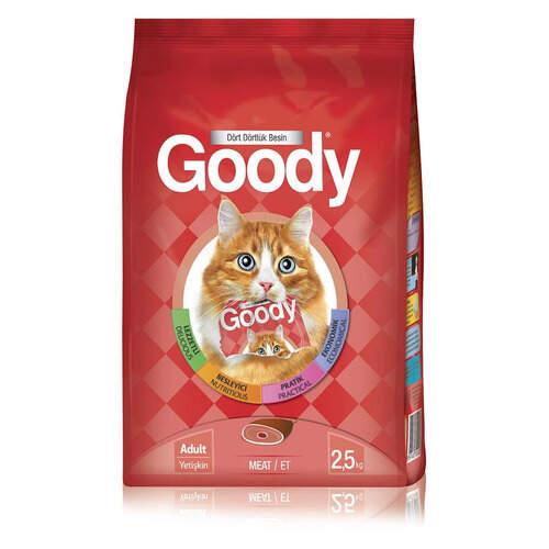 Goody 3007 Eat/etli Kedi Maması 2,5 Kg.