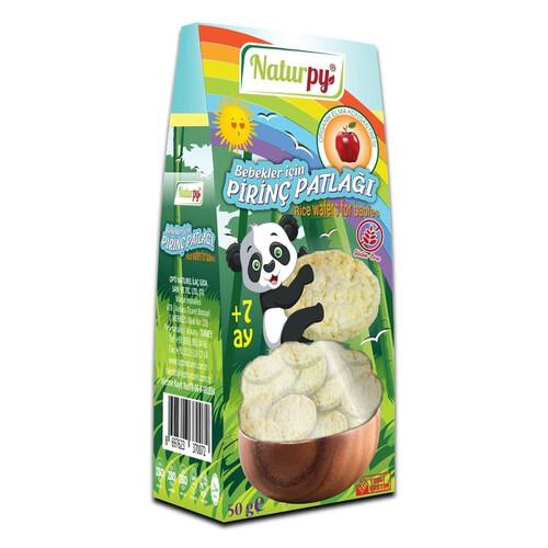 Naturpy Bebekler İçin Pirinç Patlağı 50gr.glutensiz