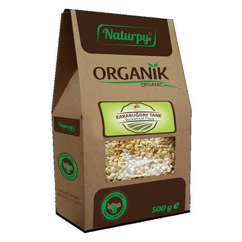 Naturpy Organik Kara Buğday Tane 500gr.