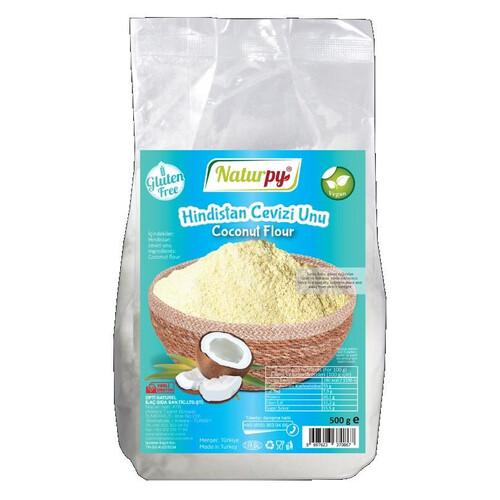 Naturpy Hindistan Cevizi Unu 500gr.glutensiz