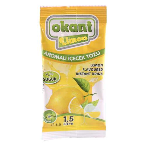 Kant Limon Aromalı İçecek  Tozu Soğuk 9 Gr.