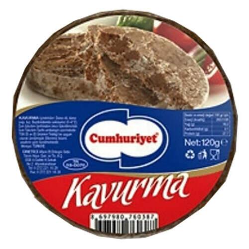 Cumhuriyet Dilimli  Kavurma 120 Gr.