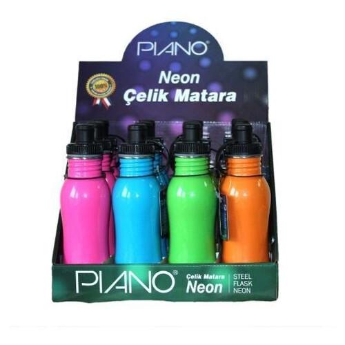 Piano Neon Çelik Matara 500 Ml