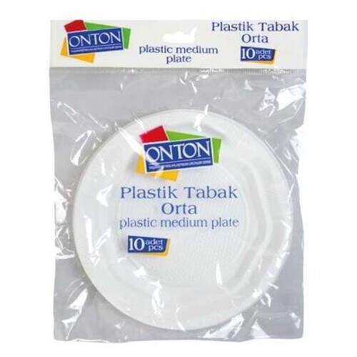 Onton Plastik Orta Boy Tabak 10'lu