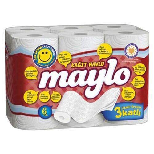 Maylo 6'lı Kağıt Havlu