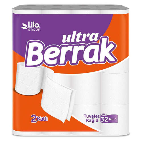 Berrak Tuvalet Kağıdı 32'li
