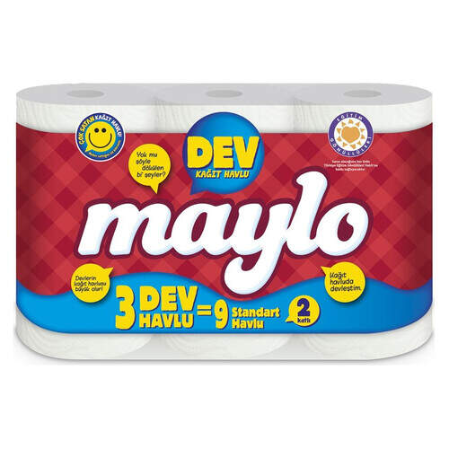 Maylo Havlu 3'lü