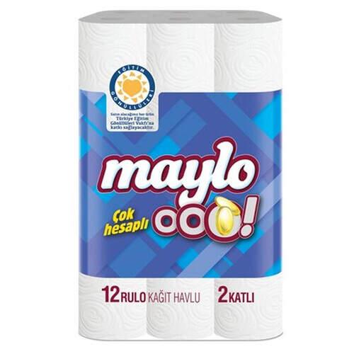 Maylo Ooo Kağıt Havlu 12li