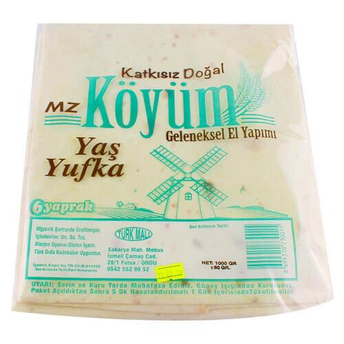 Köyüm Yaş Yufka 1000 Gr.