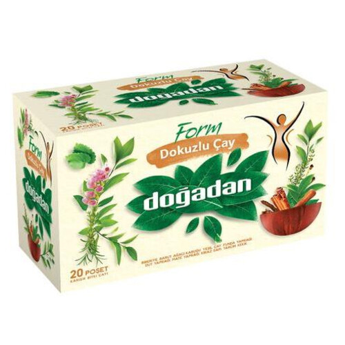 Doğadan Dokuzlu Çay 20'li Paket 30 Gr.