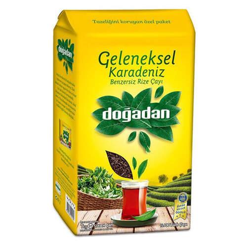 Doğadan Geleneksel Karadeniz Siyah Çay 1000 Gr.