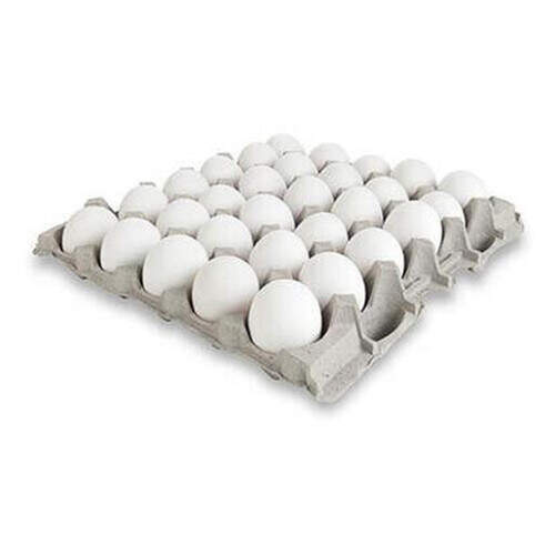 Unyum Yumurta L Boy Beyaz 30'lu