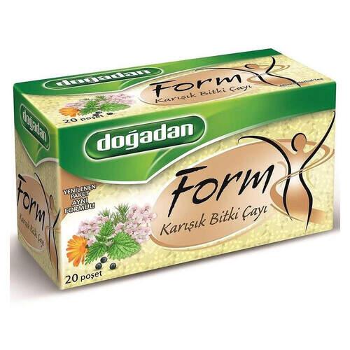 Doğadan Form Karışık Bitkisel Çay 20'li Paket 40 Gr.