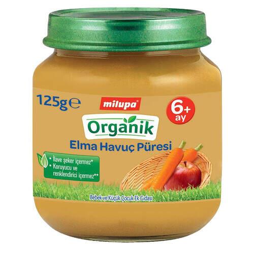 Milupa Organik Elmalı Havuçlu Puding 125 Gr.