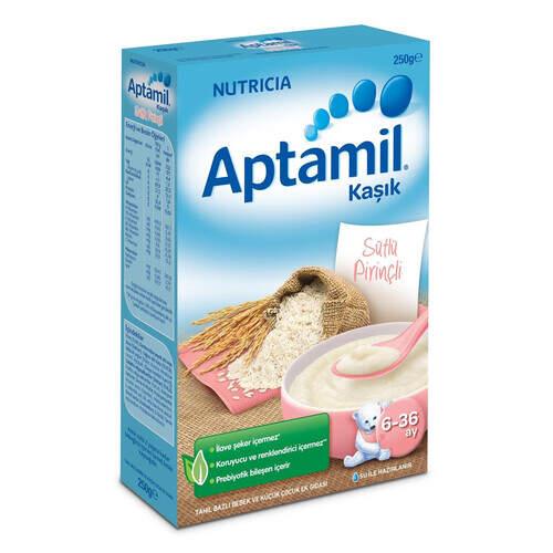Milupa Aptamil Sütlü Pirinçli 250 Gr.