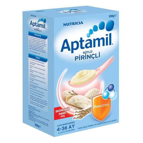 Milupa Aptamil Sütlü Pirinçli Ekonomik Paket 500 Gr.