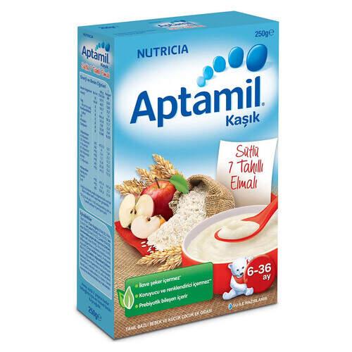 Milupa Aptamil Devam Sütü 7 Tahıllı Elmalı 250 Gr.