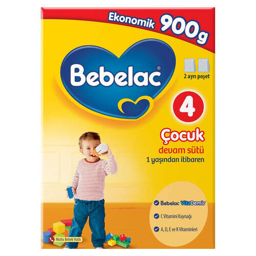 Bebelac Mama-4 900 Gr.
