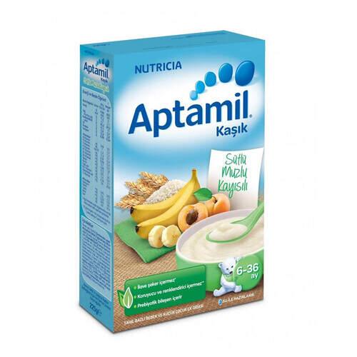 Milupa Aptamil Sütlü Muzlu Kayısılı 250 Gr.