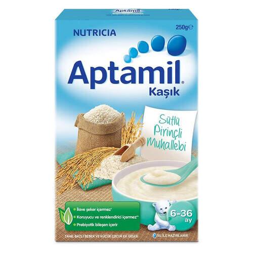 Milupa Aptamil Sütlü Pirinçli Muhallebi 250 Gr.