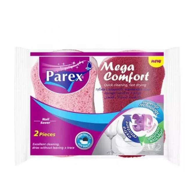 Parex 2'li Mega Comfort Oluklu Sünger