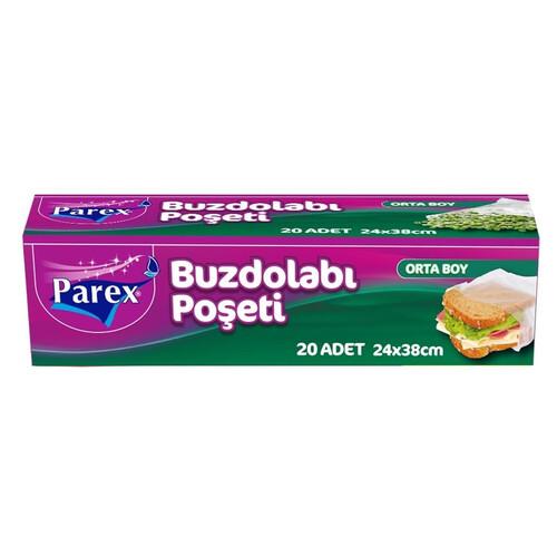 Parex Buzdolabı Poşeti Orta Boy 20 Li