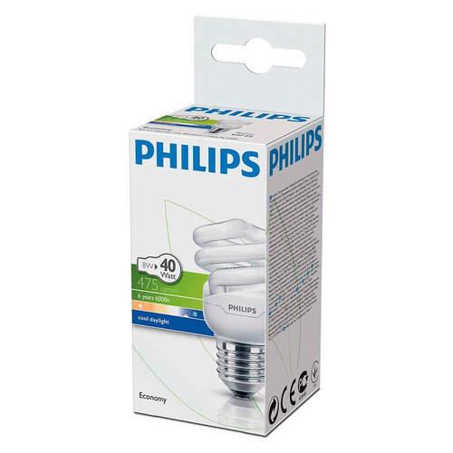 Philips Ekonomik Twister 8 W.
