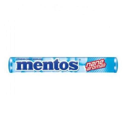 Mentos Nane Aromalı Şeker 37 Gr.