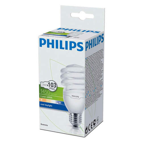Philips Ekonomik Twister Beyaz 23 W.